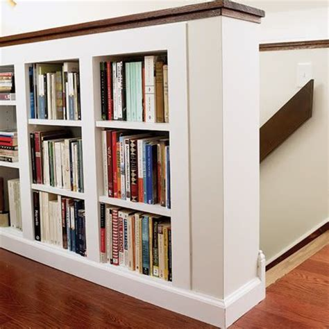 built in bookshelves stairs bookshelf built in stair decorating