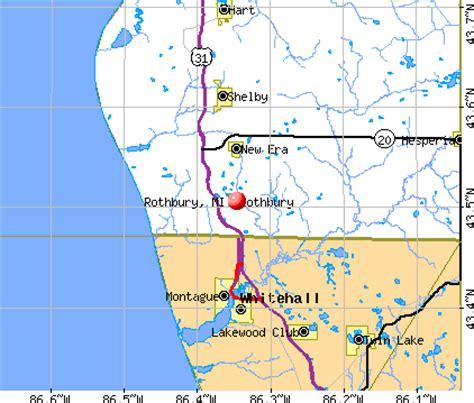 rothbury michigan map rothbury michigan map michigan map