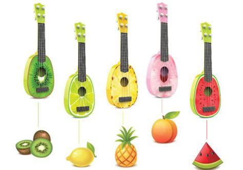 Gitar Ukulele Lokal Murah Banyak Warna ukulele gitar mainan gambar buah buahan jakartanotebook