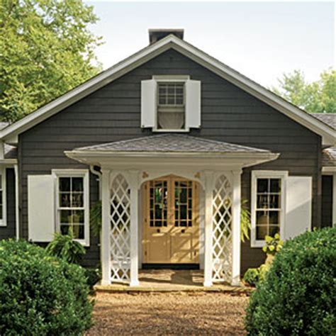 the right exterior paint colors southern living