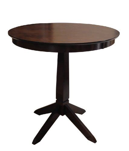 Espresso Bistro Table Price Comparisons Espresso Brown Wood Kitchen Dining Bistro Bar Table Bethanystokesnkny