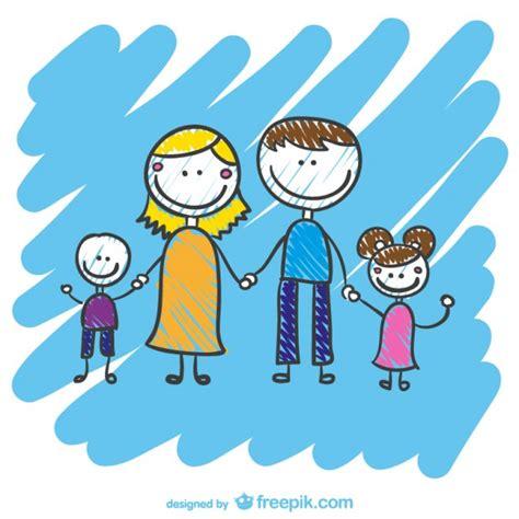 imagenes vectores familia vector dibujo de familia descargar vectores gratis