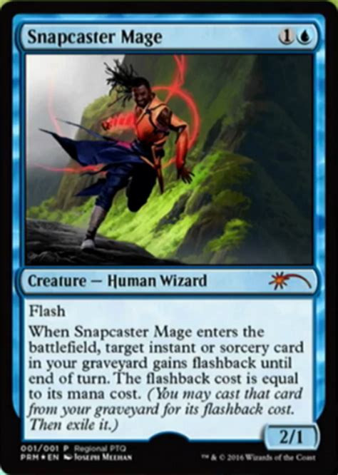 Price Promos An Unfortunately Named by Snapcaster Mage Named 2016 Rptq Promo Speculation