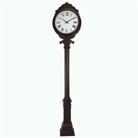 standing garden clock outdoor free standing clock outdoor designs