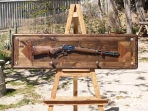 custom gun rack by of wood custommade
