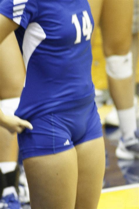 High School Volleyball Camel Toes | epic volleyball girls camel toe gif