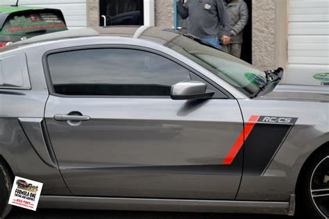 Rausch Ford Mustang by Gotshadeonline Custom Vehicle Wraps Window Tinting