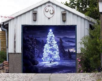 merry christmas garage door cover garage door covers nativity by charmyourhome