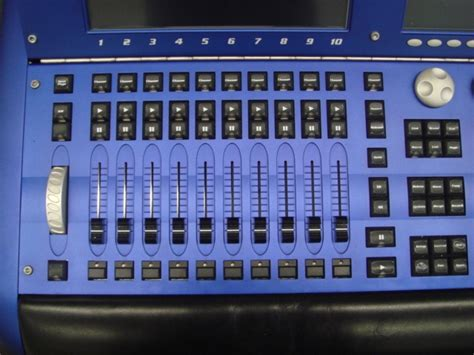 whole hog lighting desk used wholehog iii by high end systems item 23077
