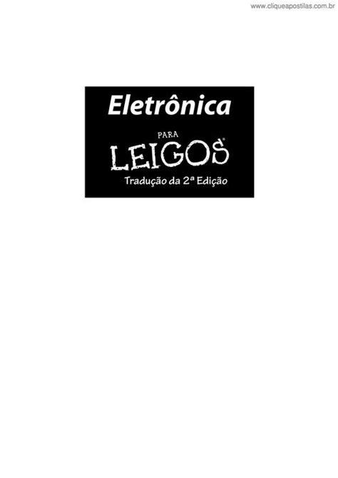 Clique Apostilas - Eletrônica para Leigos