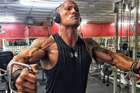 dwayne johnson the rock headphones dwayne the rock johnson playlist men s health magazine