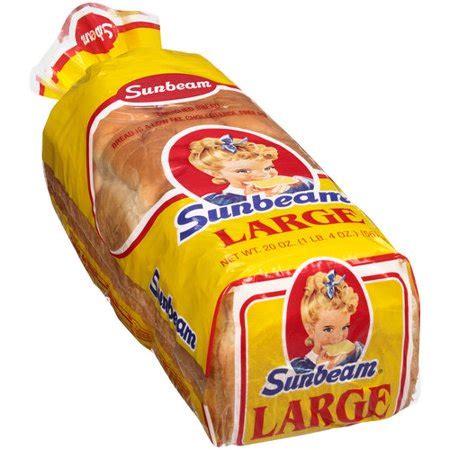 sunbeam large bread, 20 oz walmart.com