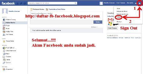 fb daftar cara daftar facebook baru daftar fb seputar facebook