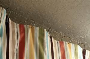 Hanging Curtains From Ceiling Shower Curtains Hanging From Ceiling Decoration News