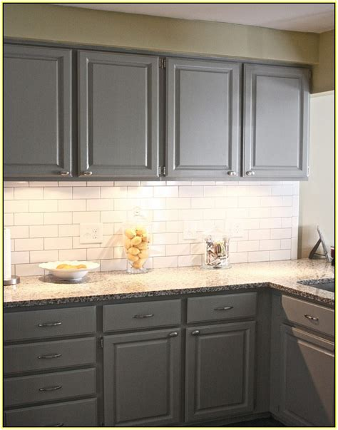 white kitchen subway tile backsplash gray cabinets white subway tile backsplash kitchen