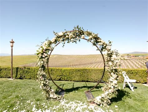 wedding arch circle circle arch 2 0 wedding rentals and sales in san