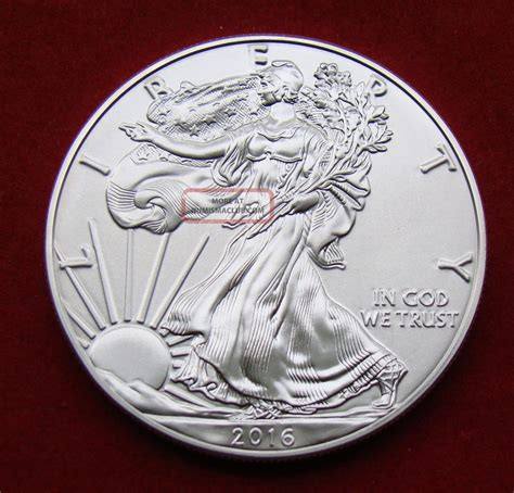 1 troy ounce silver eagle coin 2016 silver dollar coin 1 troy oz american eagle walking