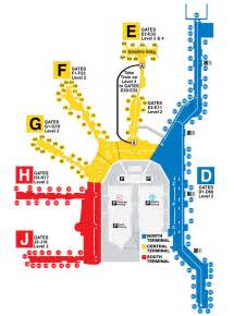 airport map miami international airport terminal gates miami