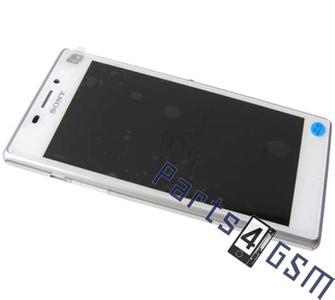 Hp Sony M2 D2302 sony xperia m2 dual d2302 lcd display module white 78p7120006n parts4gsm