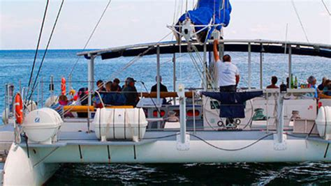 catamaran lunch cruise valencia daytime party cruise with paella lunch drinks valencia