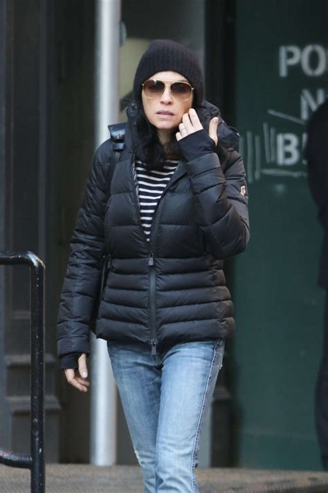julianna margulies large head julianna margulies in jeans heads to the spa in soho