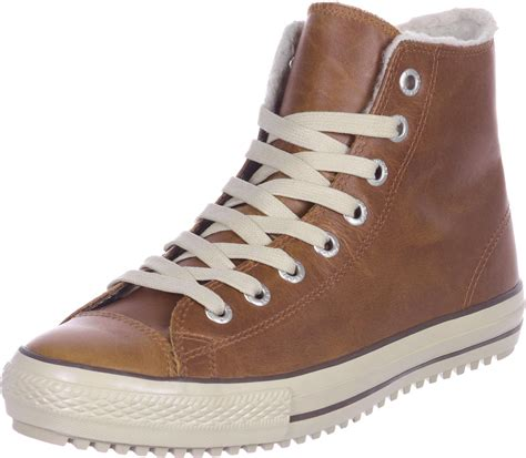 converse all boot shoes brown