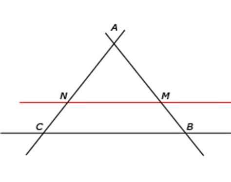 cours de maths 3e théorème de thalès maxicours.com