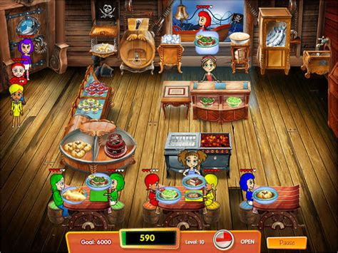 Kitchen Dash by Cooking Dash 3 Thrills Spills Gamehouse
