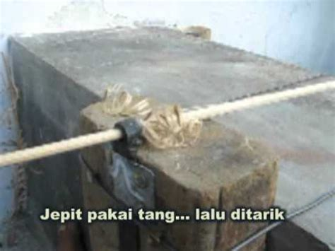 Mesin Bor Untuk Membuat Sangkar Burung cara mudah buat batang bambu bulat 2 viyoutube