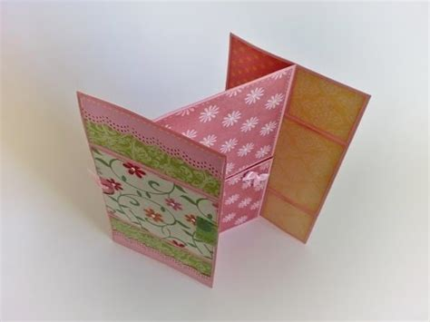 how to make a endless card diy never ending card ou cart 227 o infinito scrapbooking