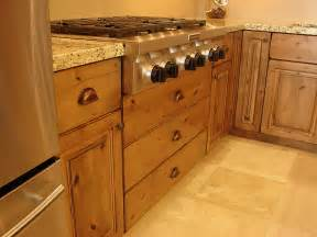 Rustic Alder Kitchen Cabinets by Lec Cabinets Rustic Knotty Alder Cabinets