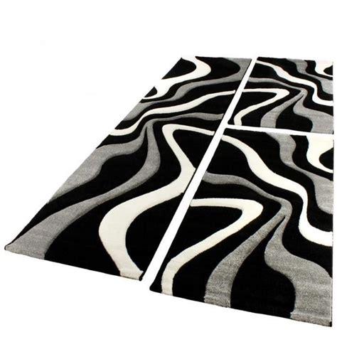 Exceptionnel Couloir Gris Et Blanc #1: Tapis-de-couloir-de-passage-nazar-nazar-tapis-de-salon-diamond-760-80x300-cm-noir-gris-et-blanc-382058-700x700.jpg