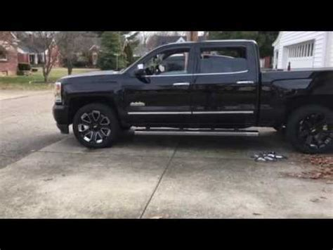 "2016 silverado high country w/ black 22"" gm wheels"