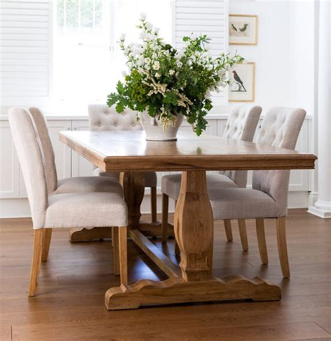 Farmhouse Style Dining Table And Chairs Traditional Farmhouse Style Dining Table Ideas 4 Homes