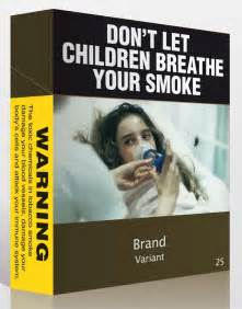 Law requiring plain cigarette packs campaign for tobacco free kids