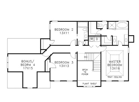 2 story home plans two story house plans