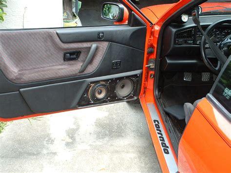 vwvortexcom custom speaker door pods