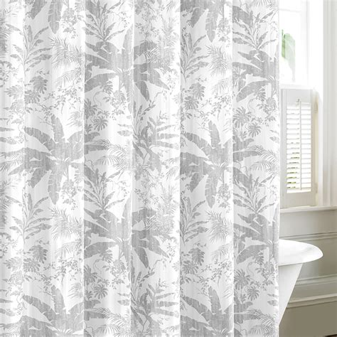 tommy bahama drapes tommy bahama baylon gray shower curtain from beddingstyle com