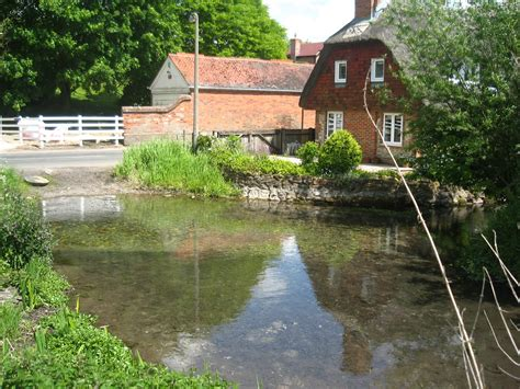 file cottage at bernard s ford on the river lambourn