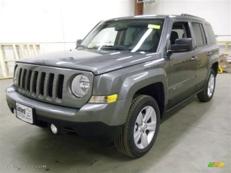 gray jeep patriot 2012 mineral gray metallic jeep patriot latitude 4x4
