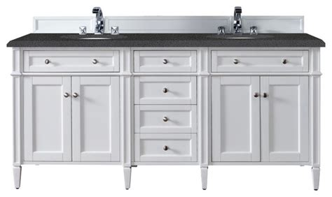 double console sink cottage bathroom vicente burin brittany 72 quot double cabinet cottage white bathroom