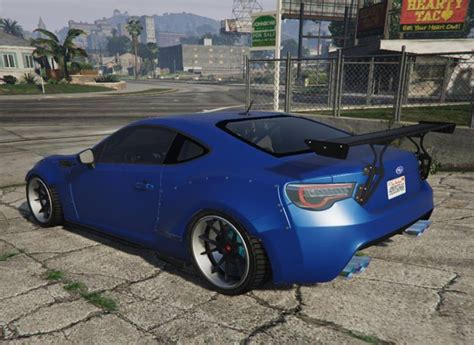 modded subaru brz gta 5 2016 subaru brz sti version with tuning parts mod