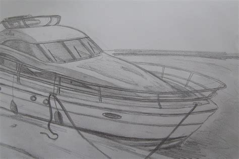 motor boat drawing motor boats drawing