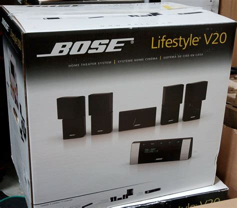 bose lifestyle  hdmi home theater  speaker system