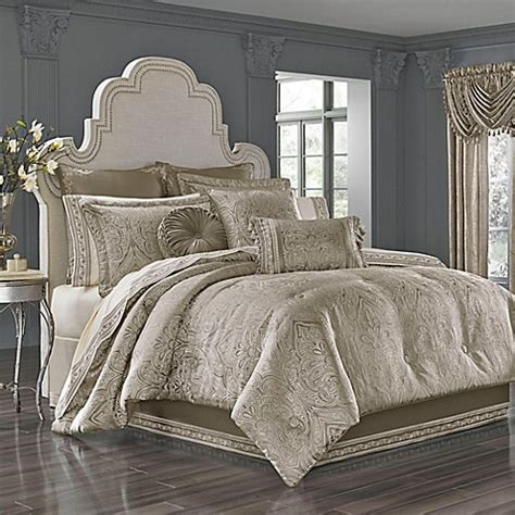 silver comforter queen buy j queen new york corinna queen comforter set in