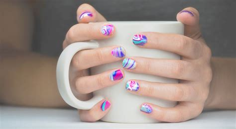 What Do You Need For Water Marble Nail how to do water marble nails