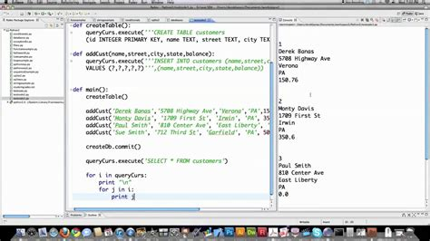 tutorial python 2 7 python 2 7 tutorial pt 12 sqlite youtube