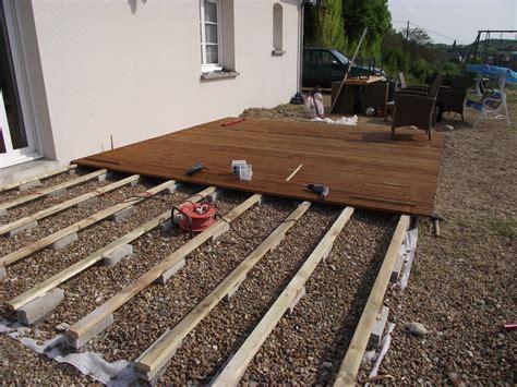 comment poser une terrasse en bois 4357 comment poser une terrasse en bois composite 2 nivrem