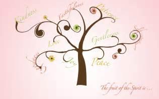 fruit of the spirit tree daily seeking fruit of the spirit