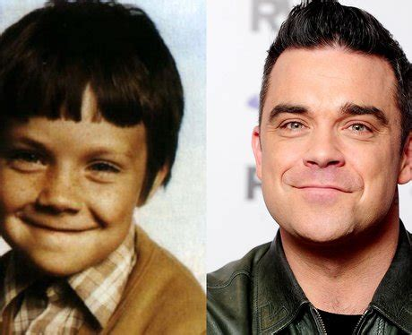 it's robbie williams' baby picture guess the celebrity